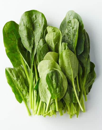 Spinach - healthiest foods in the world