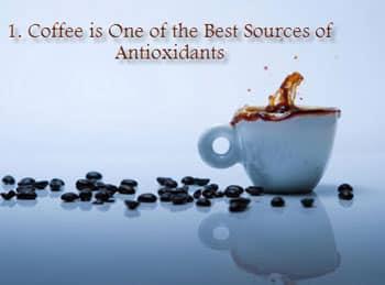 coffee rich antioxidant