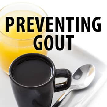 cooffee to Prevent gout
