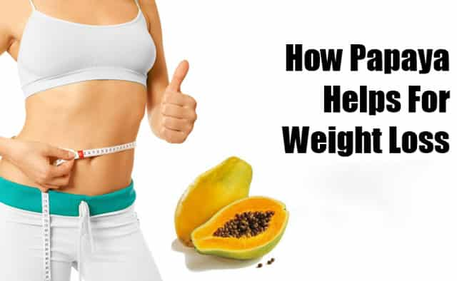papaya health benefits for weight lose
