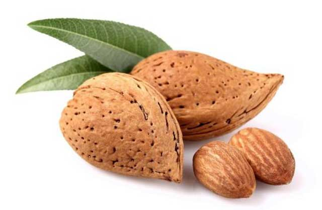 almonds Foods that are Beneficial for Skin Health
