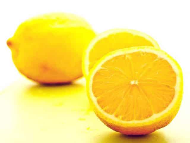 lemon is alkaline foods