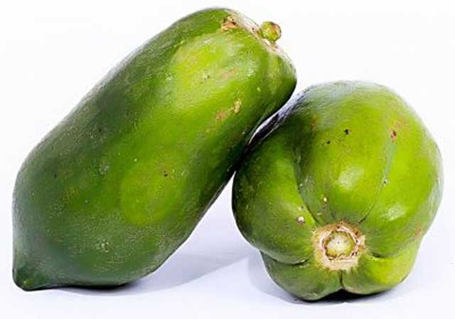 raw papaya as home remedies for gastritis