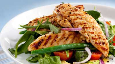 salmon is one of superfoods to build your muscles