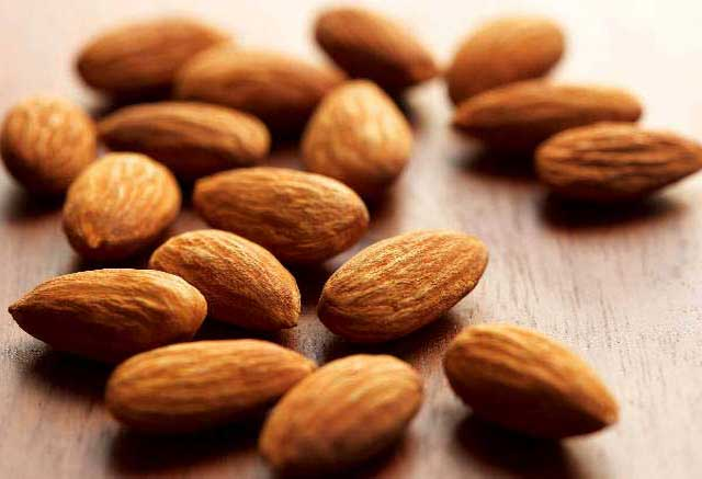 Almonds for preventing obesity