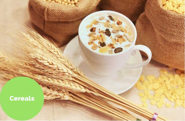 cereals rich iron foods