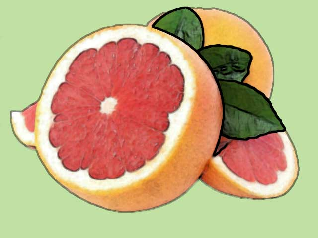 grapefruit foods rich in vitamin c
