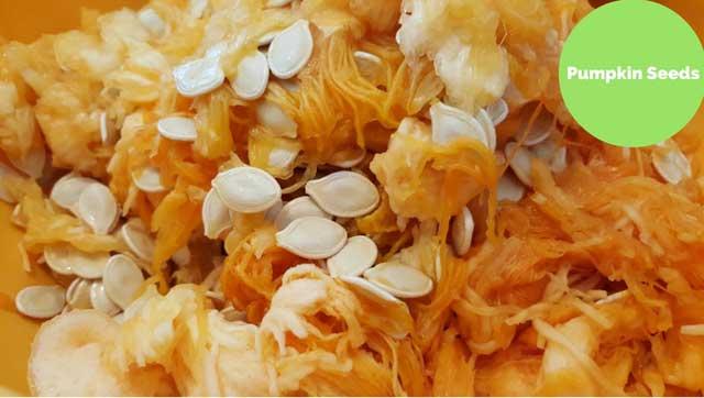 pumpkin seeds is foods highest in iron
