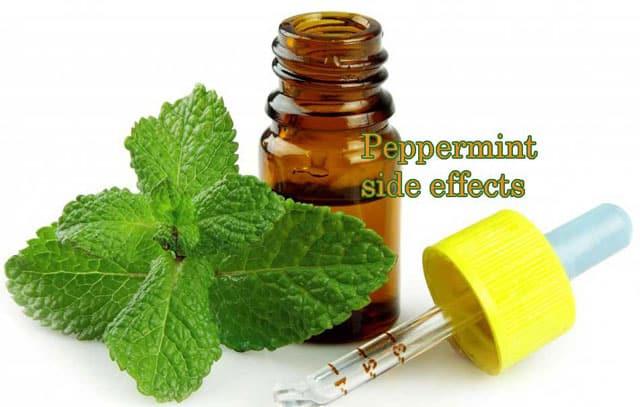 dangerous side effects of peppermint oil