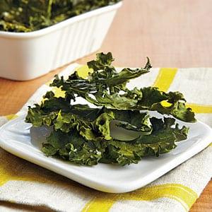 kale chips healthy salty snacks