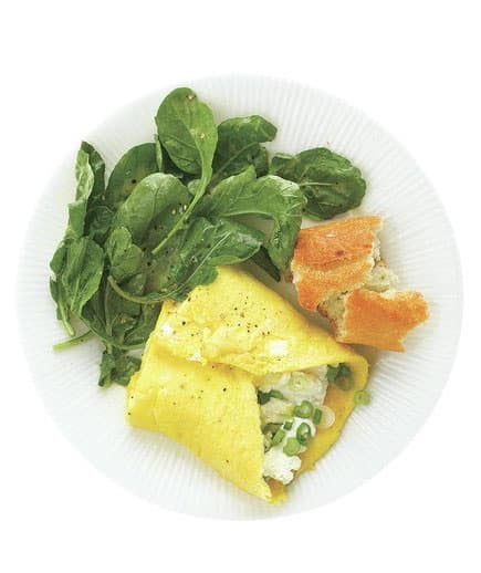 Goat Cheese Omelet, low calorie food