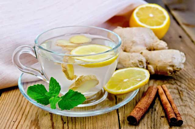 Ginger drink healthy energy drinks
