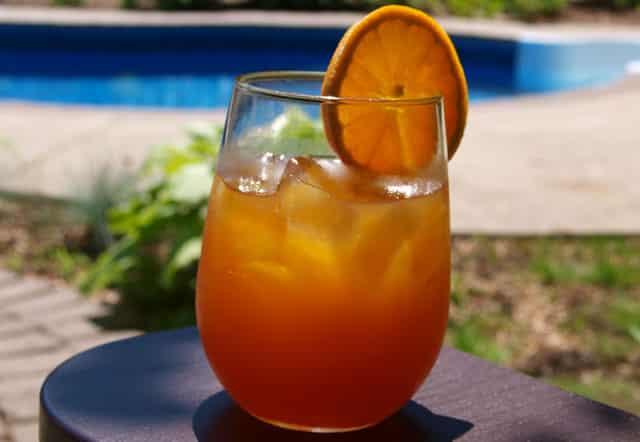 orange ice tea Healthy Energy Drinks