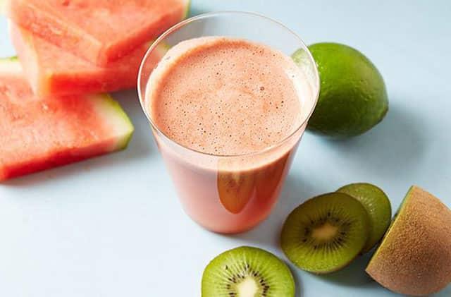 Kiwi watermelon juice healthy drinks