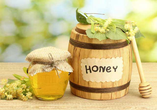 home remedies for treating cataract is pure honey