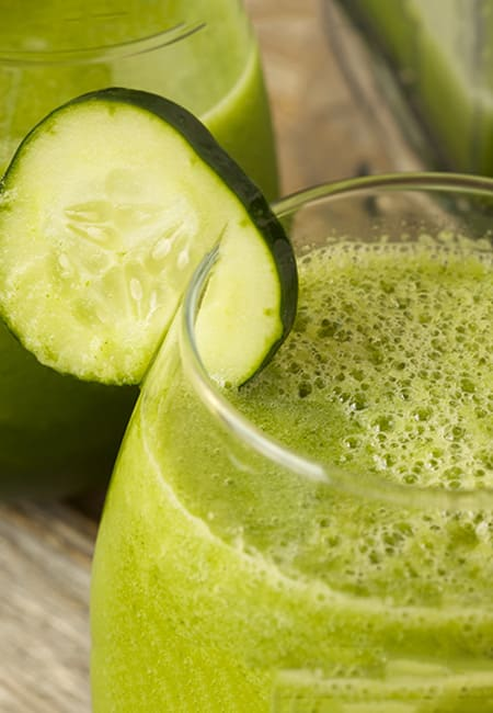 Cucumber Juice to lose weight