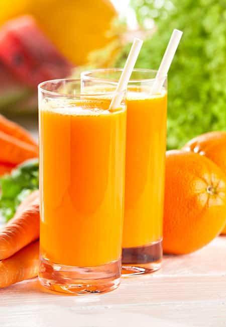 Orange, Carrot, And Beet Juice