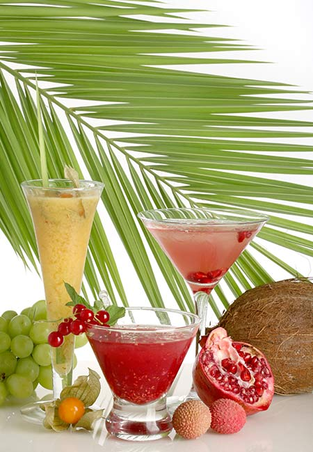 Pomegranate And Litchi Juices to lose weight