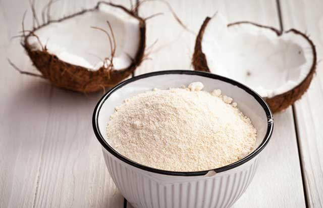 Coconut Flour foods rich fiber