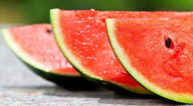 watermelon Foods to Burn Fat