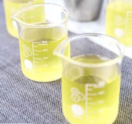 green tea shot cup