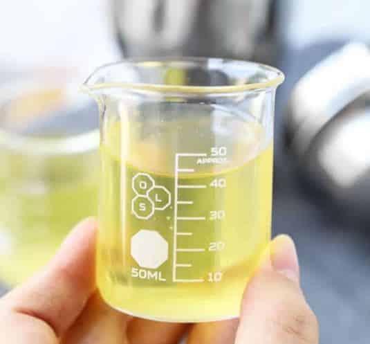green tea shot drink cup