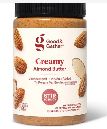 Good & Gather Creamy Almond Butter