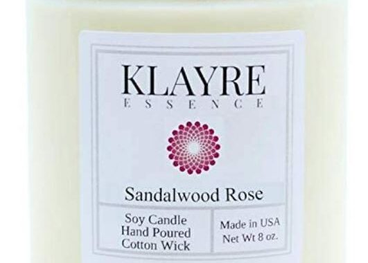 Klayre Essence Aromatherapy & Relaxation Candle
